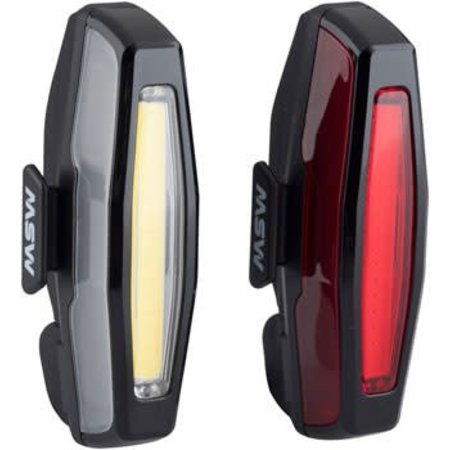 Pangolin Front and Rear USB Headlight and Taillight Set