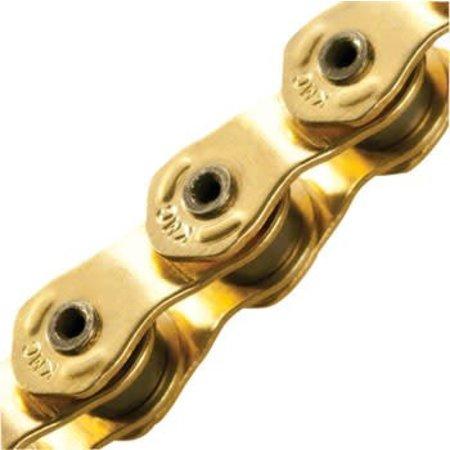 """HL710 Half-Link Chain: 1/8"""" 100 Links Gold"""