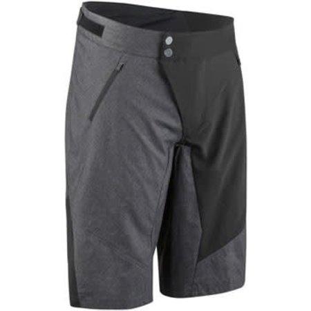 Louis Garneau Dirt Men's Short: Black/Gray 2XL