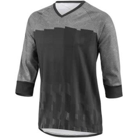 Louis Garneau T-Dirt Men's Jersey: Black/Gray 2XL