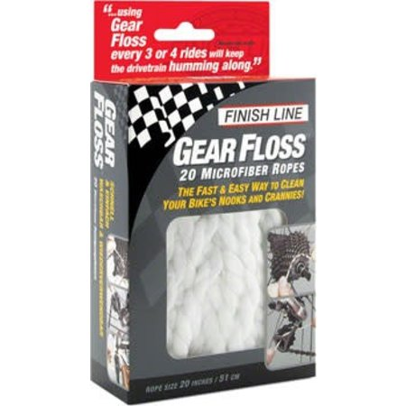 Gear Floss Microfiber Cleaning Rope