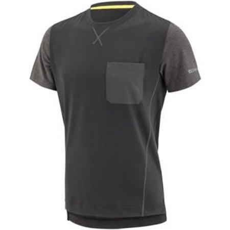 Garneau T-Dirt Men's Jersey: Black/Gray XL