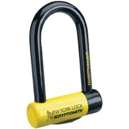 "Kryptonite New York STD U-Lock with Bracket: 4 x 8"""