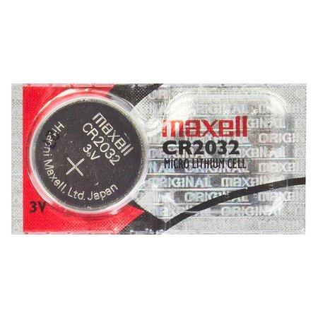 Battery, Lithium CR2032, 3V