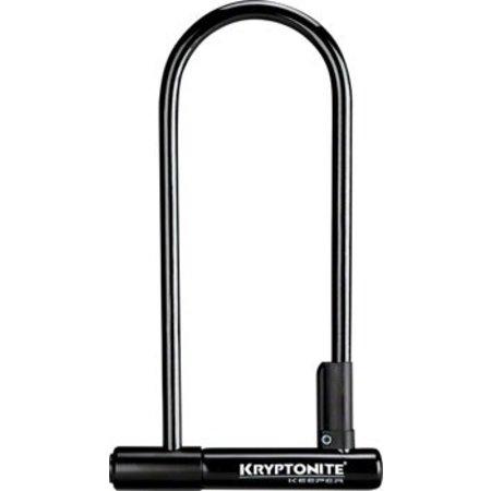 """Kryptonite Keeper 12 Long Shackle U-Lock: 4 x 10"""""""