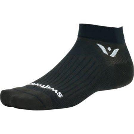 """Aspire 1"""" cuff  Sock: Black"""