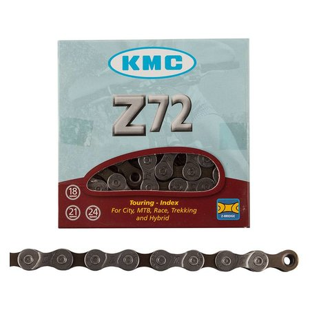 KMC Z72 Chain: 6,7,8 Speed 7.1mm 116 Links Gray/Brown