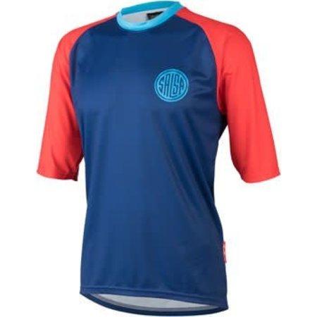 Devour Men's Short-Sleeve Jersey: Blue