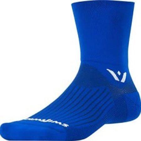 """Aspire 4"""" Cuff Sock: Blue"""