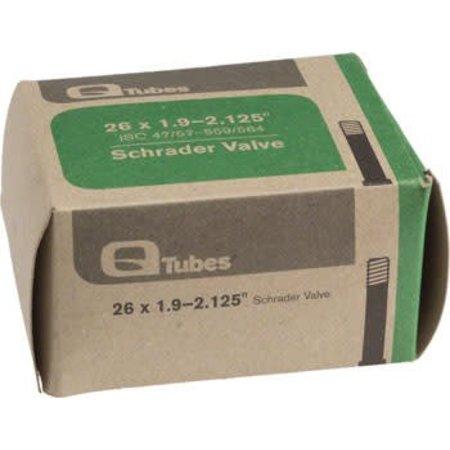 """Q-Tubes 26"""" x 1.9-2.125"""" Schrader Valve Tube 174g"""