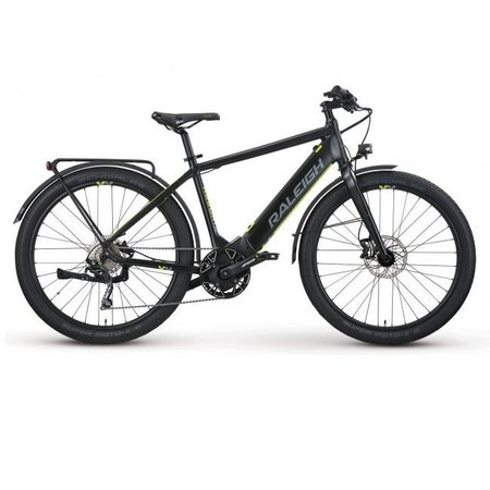 Raleigh Electric Redux iE Step Over Black