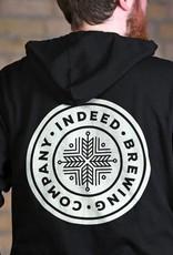 Independent Trading Co. Black Full Zip Hoodie