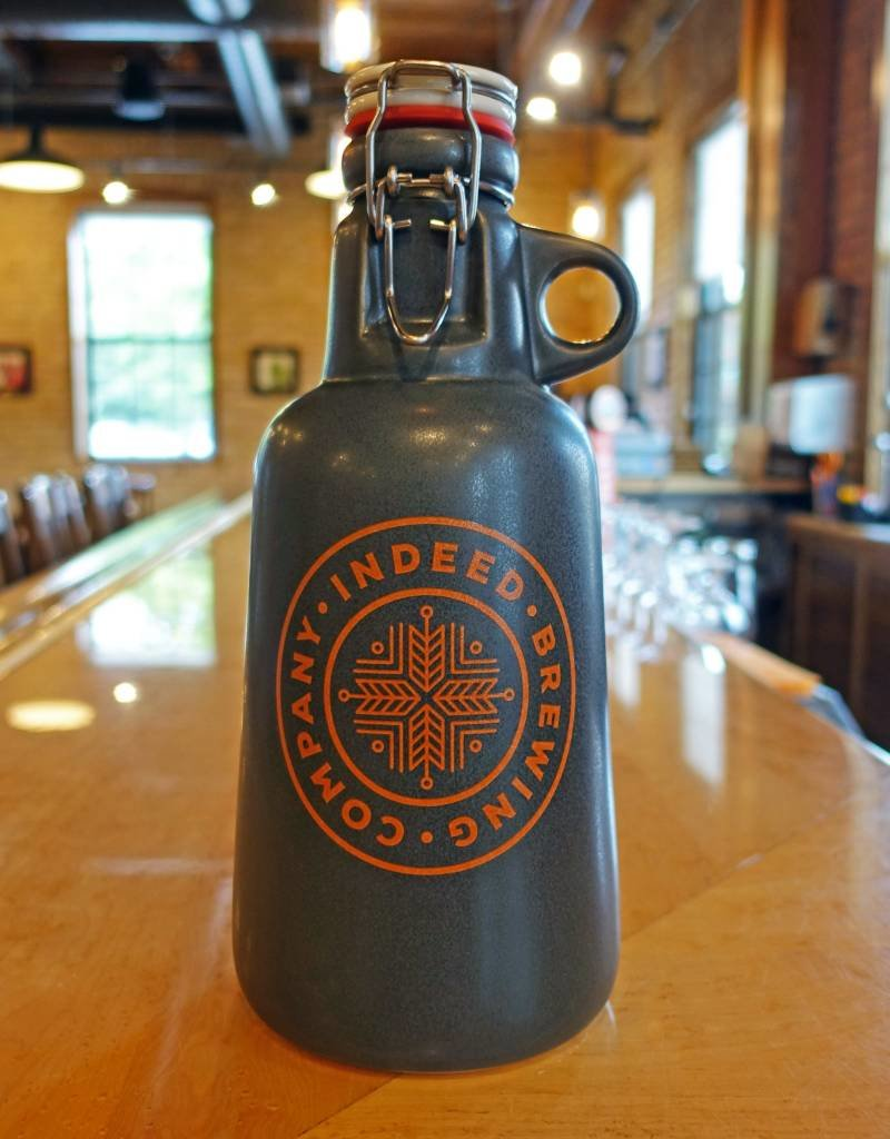 New Relic Stoneware Indeed Brewing Ceramic Growler