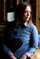 Weatherproof Women's Chambray Longsleeve Dress Shirt
