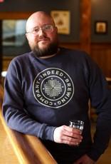 Independent Trading Co. Navy Crewneck Sweatshirt
