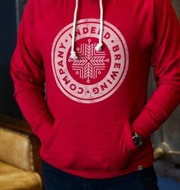 Heritage Slub Jersey Summer Hoodie [Unisex] - Vintage Red