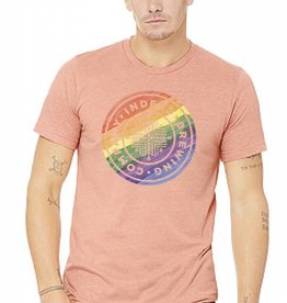 Bella+Canvas 2018 Adult Pride Tee [Unisex] - Heather Sunset