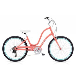ELECTRA TOWNIE ORIGINAL 7D LADIES 26 CORAL