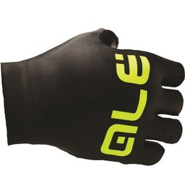 ALE ARIA SUMMER GLOVES BLACK/FLUO YELLOW