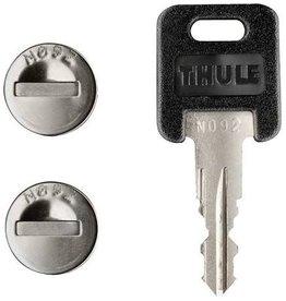 THULE THULE ONE KEY LOCK CYLINDERS (4 PACK)