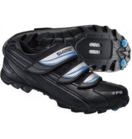 SHIMANO SHIMANO SH-WM51 6.5 BLACK/SILVER/BLUE WOMEN'S