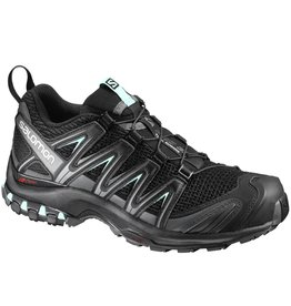 SALOMON SALOMON XA PRO 3D BLACK/MAGNET/FAIR AQUA 8 WOMEN'S