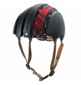 BROOKS ENGLAND FOLDABLE HELMET CARRERA COLLABORATION WITH FABRIC COVER
