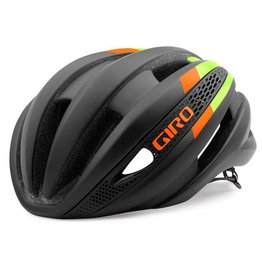 GIRO SYNTHE  MATTE BLACK/LIME/FLAME MEDIUM