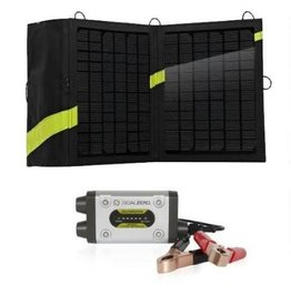 GOAL ZERO GUARDIAN 12V SOLAR RECHARGING KIT WITH BOULDER SOLAR PANEL