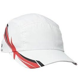 HEADSWEATS RACE HAT EVENTURE WHITE SUB RED/BLACK