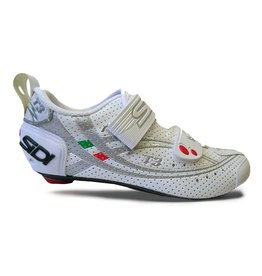 SIDI SIDI T3.6 AIR CARBON WHITE/SILVER 45 MEN'S