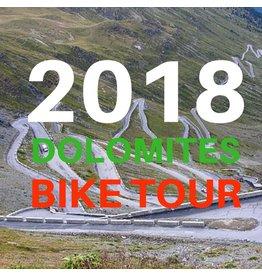 NBS 2018 Dolomites  & Giro D' Italia Bike Tour.