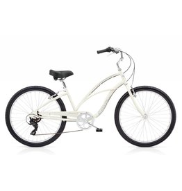 ELECTRA Electra Cruiser 7D 24' Ladies Pearl White