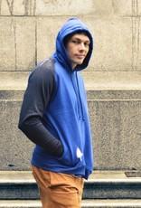 Union Aparel Into the Blue lslv hoodie