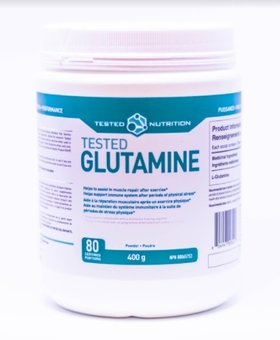 Tested Tested Nutrition Glutamine 400g (80 Servings)