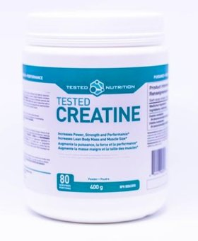Tested Tested Nutrition Creatine 400g (80 Servings)