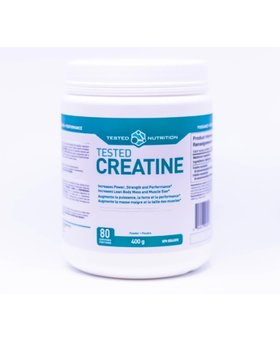 Tested Tested Nutrition Creatine 1000g (200 Servings)