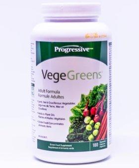 Progressive Progressive VegeGreens (180 Caps)