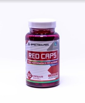 Spectro Spectro Labs Red Caps 60 Caps