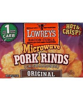 Lowrey's Keto Bacon Curls Pork Rinds