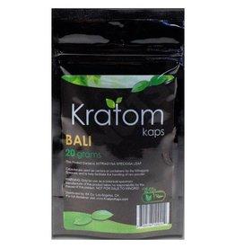 Kratom Kaps Kratom Kaps Bali 20g 40ct Capsule Bag