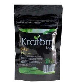 Kratom Kaps Kratom Kaps Bali 10g 20ct Capsule Bag