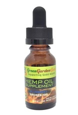 Green Garden Gold Green Garden Gold 100MG 15ML CBD Oil Blueberry Bronze