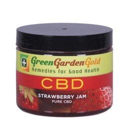 Green Garden Gold GGG 200MG CBD 6oz. Strawberry Jam