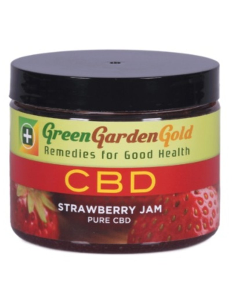 Green Garden Gold GGG 200MG CBD 6oz. Strawberry Jam