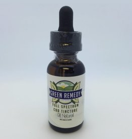 Green Remedy Farms Green Remedy 135mg CBD Full Spectrum Natural Tincture 1oz
