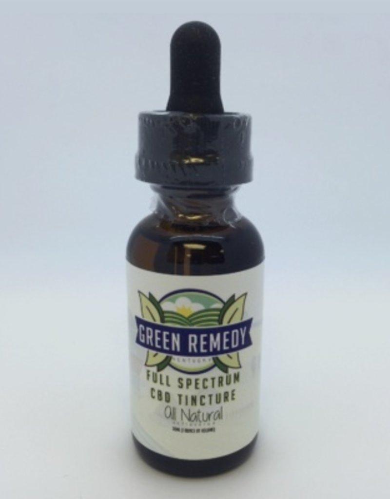 Green Remedy Farms Green Remedy 135mg CBD Full Spectrum Natural Tincture 1oz