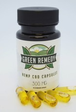 Green Remedy Farms Green Remedy 300mg CBD Full Spectrum 30 Capsules