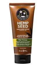 Earthly Body EB Hemp Seed Oil Lotion 7oz Nag Champa
