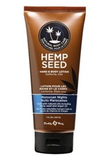 Earthly Body EB Hemp Seed Oil Lotion 7oz Moroccan Nights